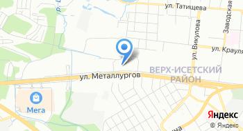 Тойота центр Екатеринбург Запад на карте