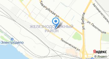 Кожно-венерологический диспансер, Дорожная больница на станции Свердловск-Пассажирский на карте