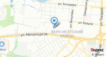 Социально-реабилитационный центр для Несовершеннолетних Верх-исетского района Города Екатеринбурга на карте