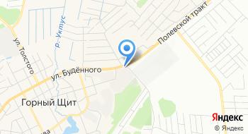 Автосервис Горный Щит на карте