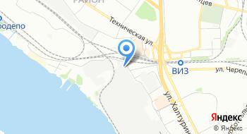Автоателье Убс-Авто на карте