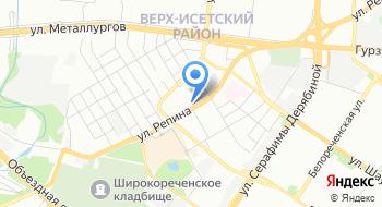 Мери Кей Екатеринбург на карте