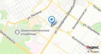 Западное трамвайное депо ЕМУП Трамвайно-троллейбусное управление г. Екатеринбург на карте