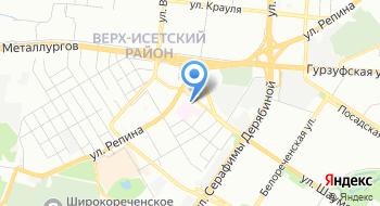 Евк на карте