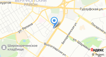 Мастерская Слуха, Уральский Медицинский Сурдологический центр на карте