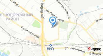 ПулМастер на карте