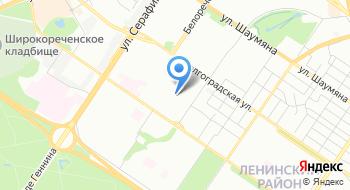 Свердловский областной центр профилактики и борьбы со СПИД на карте
