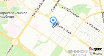 Свердловское областное патологоанатомическое бюро на карте
