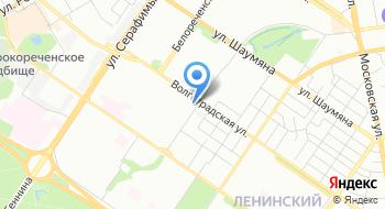 ГБУЗ Свердловской области Свердловский областной центр по профилактике и борьбе со СПИД и инфекционными заболеваниями на карте