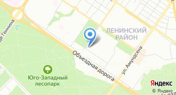 Конечная станция Онуфриева на карте