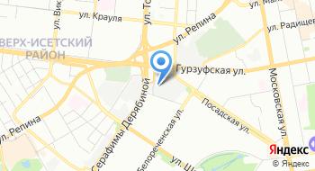 Гидроник-Екатеринбург на карте
