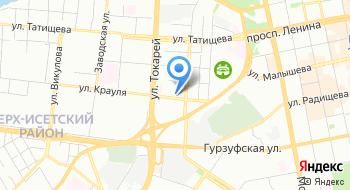 Уральский Авиасервис на карте