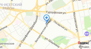 Автомагазин Юг-Авто на карте