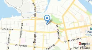 Свердловский областной медицинский колледж Общежитие на карте