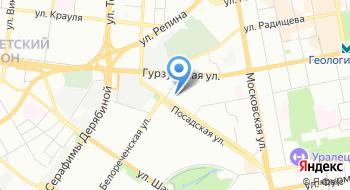 Отдел полиции № 8 УМВД России по городу Екатеринбургу на карте