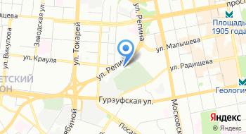 Екатеринбургская Епархия Русской православной церкви на карте