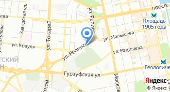 Медико-санитарная часть МВД России по Свердловской области на карте