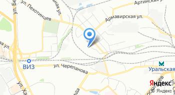 Свердловская дистанция гражданских сооружений на карте