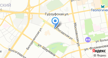 Конечная станция Посадская на карте