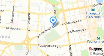 ГУФСИН по Свердловской области на карте
