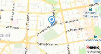 Уральское таможенное управление на карте