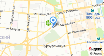 Главное Управление Федеральной службы исполнения наказаний России по Свердловской области на карте