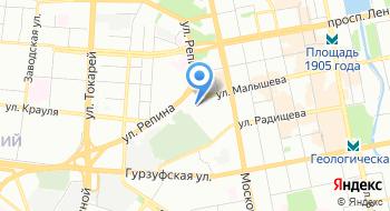 Следственный Изолятор № 1 Главного Управления Федеральной Службы Исполнения Наказаний по Свердловской области на карте