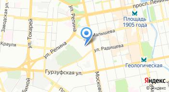Уральский центр аутсорсинга на карте