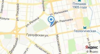 Техном на карте