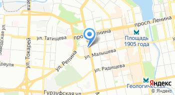 Свердловский филиал ФГУП Ростехинвентаризация - Федеральное БТИ на карте