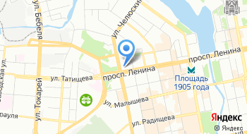 Уральский завод газоочистной аппаратуры на карте