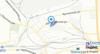 Торговая компания Уралви на карте