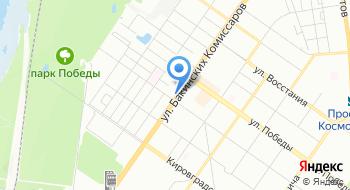 Автострахование КБ на карте