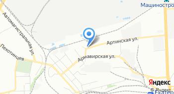 Атэко на карте