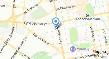 Государственное бюджетное учреждение здравоохранения Свердловской области Областная станция переливания крови на карте