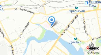 Региональная дирекция медицинского обеспечения на Свердловской железной дороге на карте