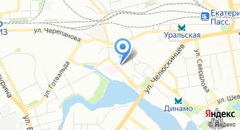 Генеральное консульство Республики Таджикистан в городе Екатеринбург на карте