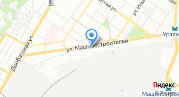 Конечная станция Машиностроителей на карте
