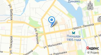 Уральский музыкальный колледж на карте