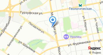 Уралинтерэнерго на карте