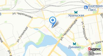 Отдел УФМС России по Свердловской области в Железнодорожном районе в г. Екатеринбург на карте