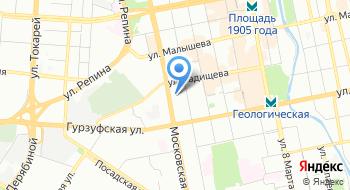 Уральский региональный центр МЧС России на карте