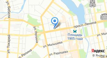 DoubleTree BY Hilton Hotel Ekaterinburg City Centre на карте