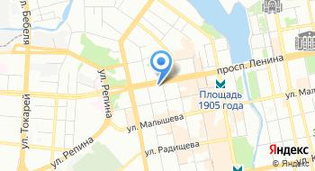 Эридан на карте