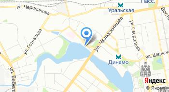 Лодочная станция Локомотив на карте