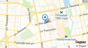 Уральское Межрегиональное Территориальное Управление Воздушного Транспорта Федерального Агентства Воздушного Транспорта на карте
