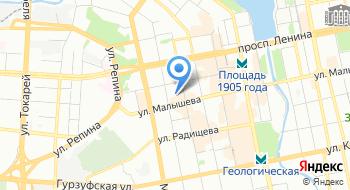Уральская миграционная компания на карте