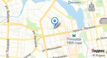 Визажист Елена Перепелица на карте