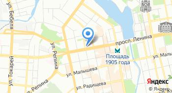 Фабрика веселья на карте