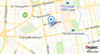Эстевита на карте
